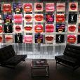 Image lors de la soirée d'inauguration de l'YSL Beauty Hotel éphémère par Yves Saint Laurent Beauté, le 17 janvier 2018 place de la Madeleine à Paris. © Yves Saint Laurent