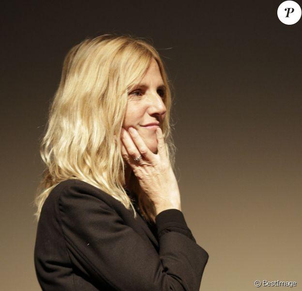 Sandrine Kiberlain - Remise des prix lors dufestival de cinéma européen Premiers Plans d'Angers le 20 janvier 2018. © Laetitia Notarianni / Bestimage