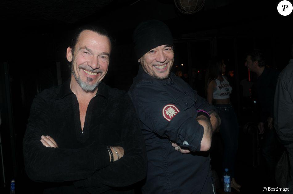 Archives - Florent Pagny et Pascal Obispo ont passé la soirée au club Titty Twister à Paris. Le 29 avril 2014