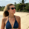 Emilie Picch en Guadeloupe le 31 décembre 2017.