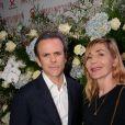 Guillaume Houze et Nathalie Dufour - Photocall de la 16ème soirée Sidaction dans la salle de réception du Pavillon d'Armenonville à Paris, France, le 26 janvier 2018. © Rachid Bellak/Bestimage