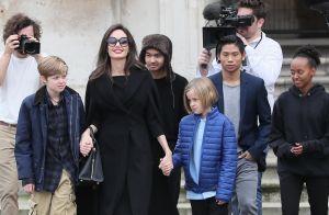 Angelina Jolie : Virée culturelle au Louvre avec ses six (grands !) enfants