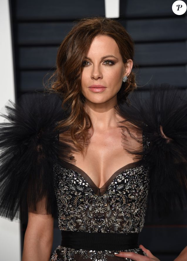 Kate Beckinsale - Vanity Fair Oscar viewing party 2017 au Wallis Annenberg Center for the Performing Arts à Berverly Hills, le 26 février 2017. © Chris Delmas/Bestimage