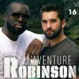 Maître Gims et Kendji Girac dans L'aventure Robinson, le 16 février 2018 sur TF1.