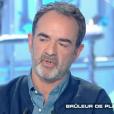 """Bruno Solo dans """"Salut les Terriens"""" sur C8. Le 3 février 2018."""