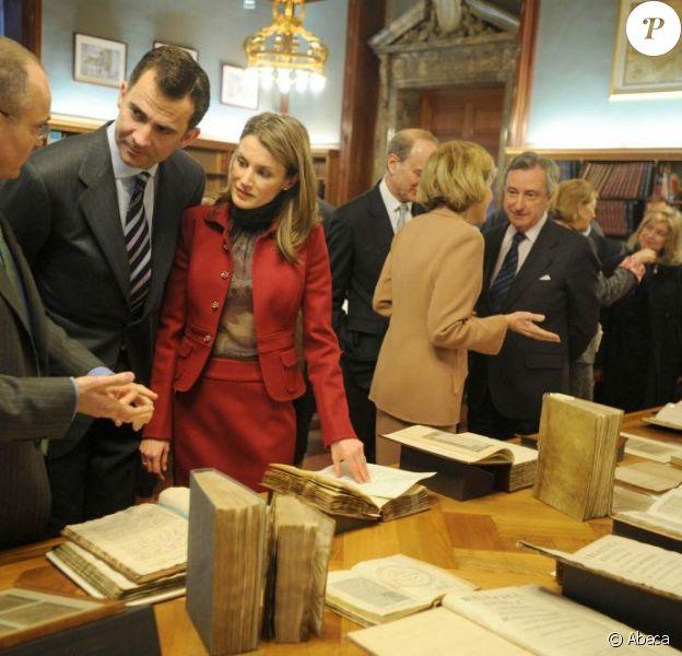 Letizia d'Espagne et Felipe en visite à New York ! 17/03/09