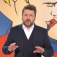 """Bruno Guillon lors de sa première en tant qu'animateur des """"Z'amours"""" sur France 2. Le 1er février 2018."""
