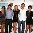 Shenae Grimes, Matt Lanter, AnnaLynne McCord, Trevor Donovan, Jessica Stroup et Ryan Eggoldà Beverly Hills le 2 septembre 2010
