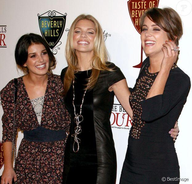 Shenae Grimes, AnnaLynne McCord et Jessica Stroup à Beverly Hills le 2 septembre 2010