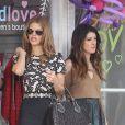 """AnnaLynne McCord, Shenae Grimes et Jessica Lowndes sur le tournage de la série """"90210"""" à Santa Monica, le 3 octobre 2012."""
