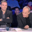 """Laurent Baffie et Christine Angot, le clash coupé au montage - """"ONPC"""", samedi 10 février 2018, France 2"""