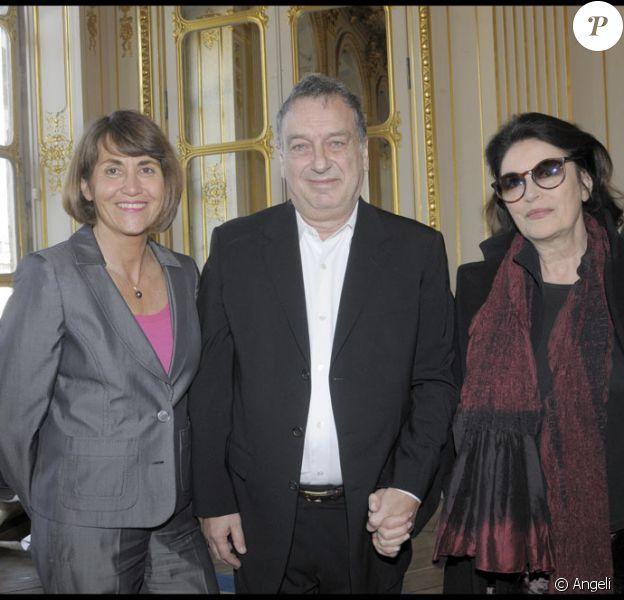 Stephen Frears, Anouk Aimé et Christine Albanel