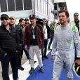 Orlando Bloom au FIA Formula E Marrakech E-Grand Prix le 13 janvier 2018