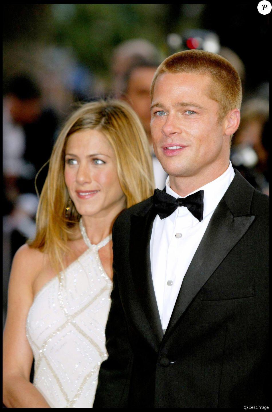 Jennifer Aniston et Brad Pitt au Festival de Cannes 2004