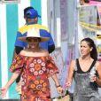 Rebecca Gayheart et son mari Eric Dane sont allés avec leurs enfants Billie et Georgia à la 36ème fête foraine annuelle Kiwanis Chili Cook-Off à Malibu. le 2 septembre 2017