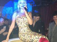 Kate Moss : Glamour façon Marilyn Monroe à la Fashion Week de Londres