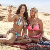 Ashley Graham : En bikini avec sa mère, les deux bombes s'éclatent