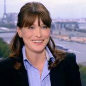 """Carla Bruni-Sarkozy """"félicitée"""" : Lorsque sa grossesse n'était pas officialisée"""
