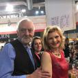 """Claude (saison 9) et Caroline - De nombreux candidats de """"L'amour est dans le pré"""" se sont retrouvés au Salont de l'agriculture à Paris. Février 2018."""