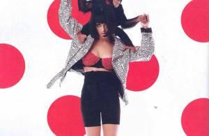 Katy Perry, en shooting très sexy, vous présente le chimpanzé qui s'est... soulagé sur elle ! Regardez !