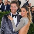"Tom Brady et sa femme Gisele Bündchen - Photocall du MET 2017 Costume Institute Gala sur le thème de ""Rei Kawakubo/Comme des Garçons: Art Of The In-Between"" à New York. Le 1er mai 2017 © Christopher Smith / Zuma Press / Bestimage"