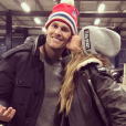 Gisele Bündchen et Tom Brady. Janvier 2018.