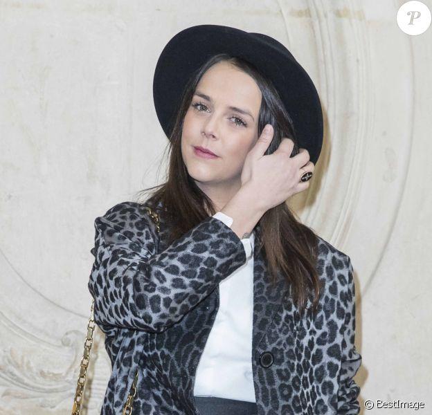 """Pauline Ducruet - Photocall du défilé de mode """"Christian Dior"""", collection prêt-à-porter automne-hiver 2018/2019, à Paris. Le 27 février 2018 © Olivier Borde / Bestimage"""