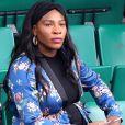 Serena Williams, enceinte, dans les tribunes des internationaux de tennis de Roland Garros à Paris le 2 juin 2017. © Cyril Moreau / Dominique Jacovides / Bestimage