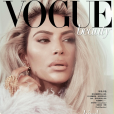 Kim Kardashian pour Vogue Taiwan, février 2018.