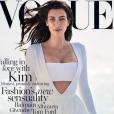 Kim Kardashian pour Vogue Australia, février 2015.