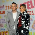 Robbie Williams et sa femme Ayda Field - Soirée de présentation Stella McCartney Automne 2018 à Pasadena, Californie, Etats-Unis, le 16 janvier 2018. © AdMedia/Zuma Press/Bestimage