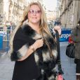 Semi exclusif - Loana Petrucciani arrive chez Europe 1 pour une interview à Paris le 13 février 2017.