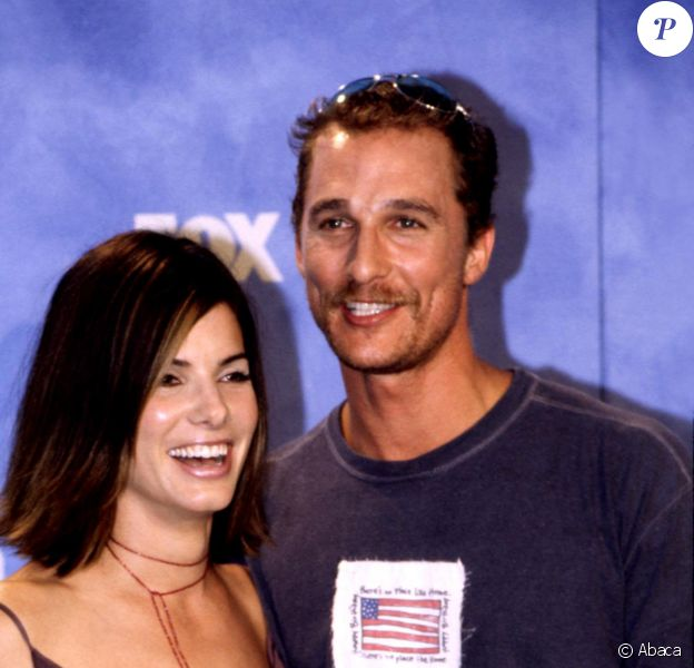 Sandra Bullock et Matthew McConaughey - Teen choice Awards en 1999