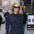 Paris Hilton se balade dans les rues de New York, le 15 février 2018.