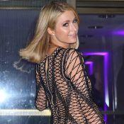 Paris Hilton, lapine coquine : En culotte haute et topless pour un shooting