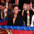 Pauline Ducruet et la princesse Stéphanie de Monaco lors de la soirée de remise des prix du 42e Festival International du Cirque de Monte-Carlo le 23 janvier 2018. © Bruno Bebert/Bestimage