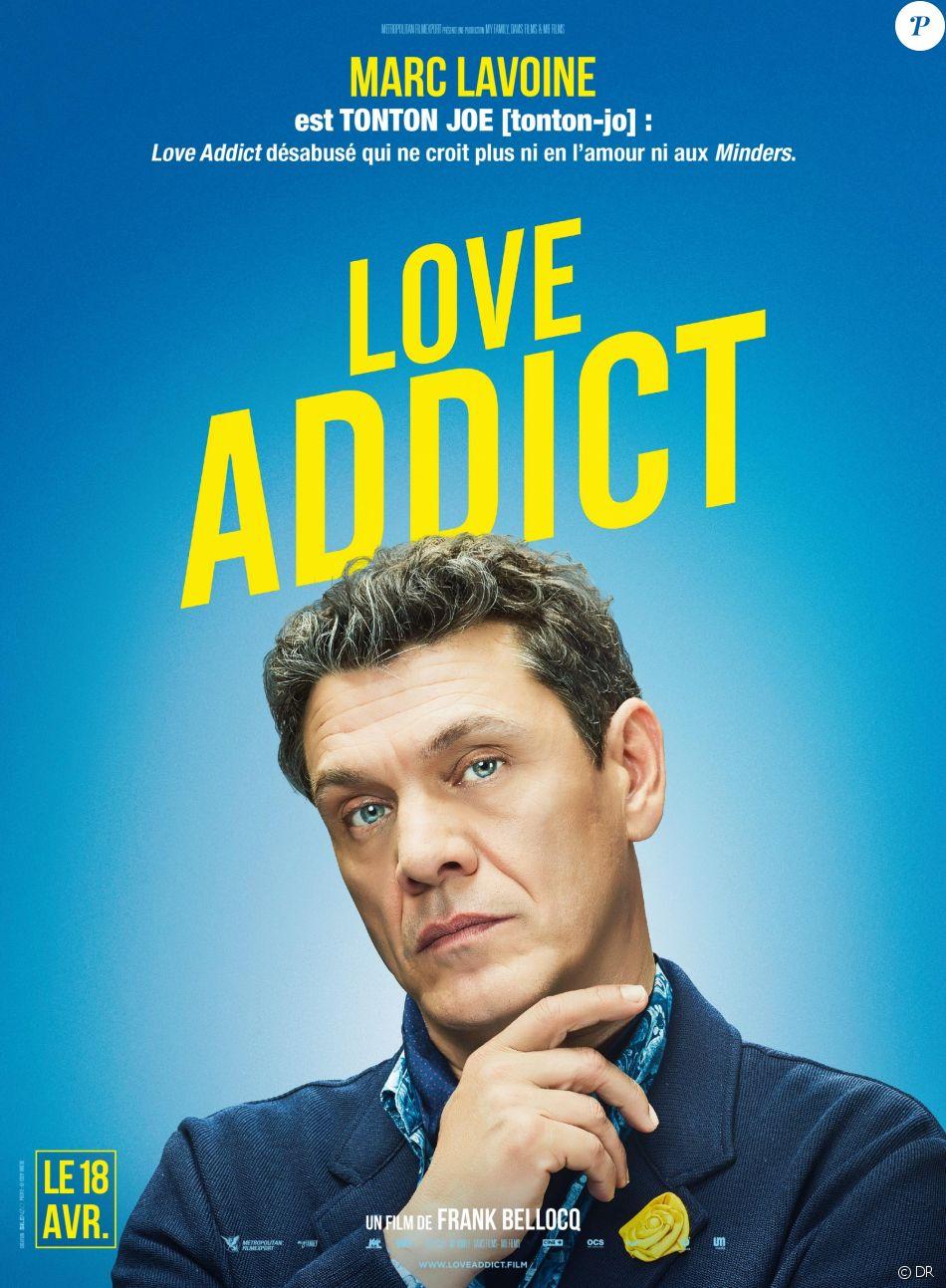 marc lavoine affiche personnage du film love addict en salles le 18 avril 2018. Black Bedroom Furniture Sets. Home Design Ideas