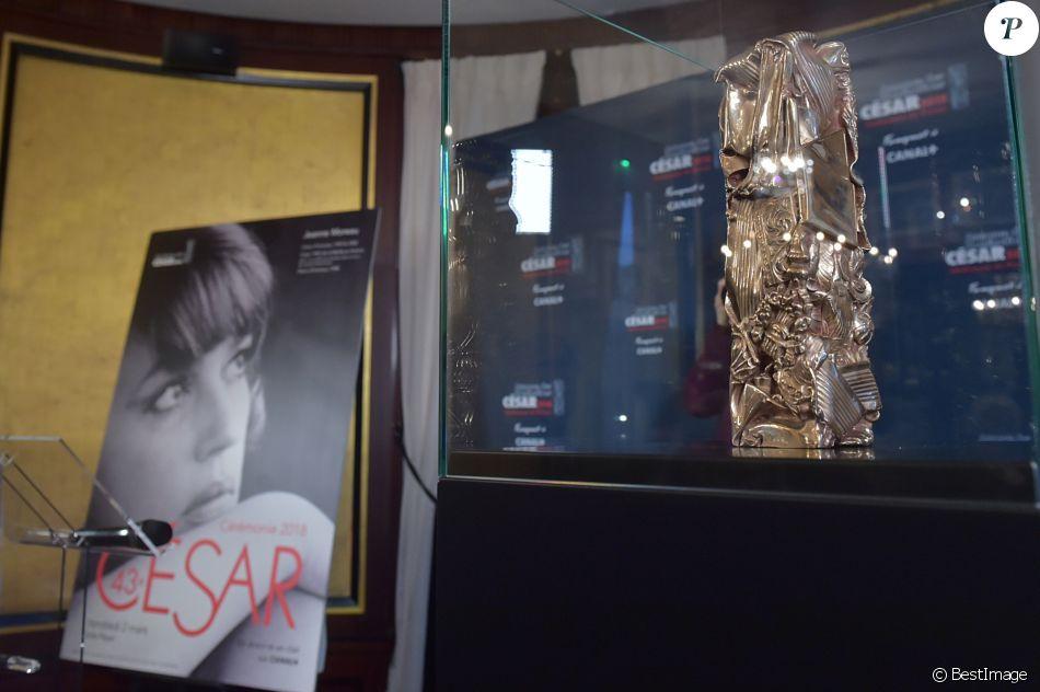 Conférence de presse de la 43ème cérémonie des César 2018 au Fouquet's à Paris le 31 janvier 2018. La cérémonie aura lieu le 2 mars à la salle Pleyel. © Giancarlo Gorassini/Bestimage