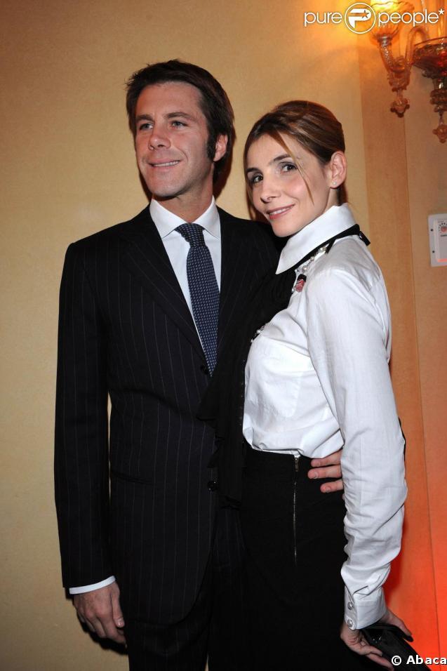 Emmanuel Philibert de Savoie et Clotilde Courau