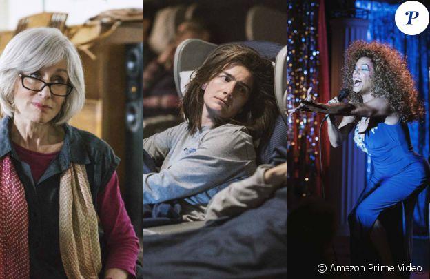 "Judith Light, Gaby Hoffmann et Alexandra Billings dans la saison 4 de ""Transparent"" de Jill Soloway, en 2017."