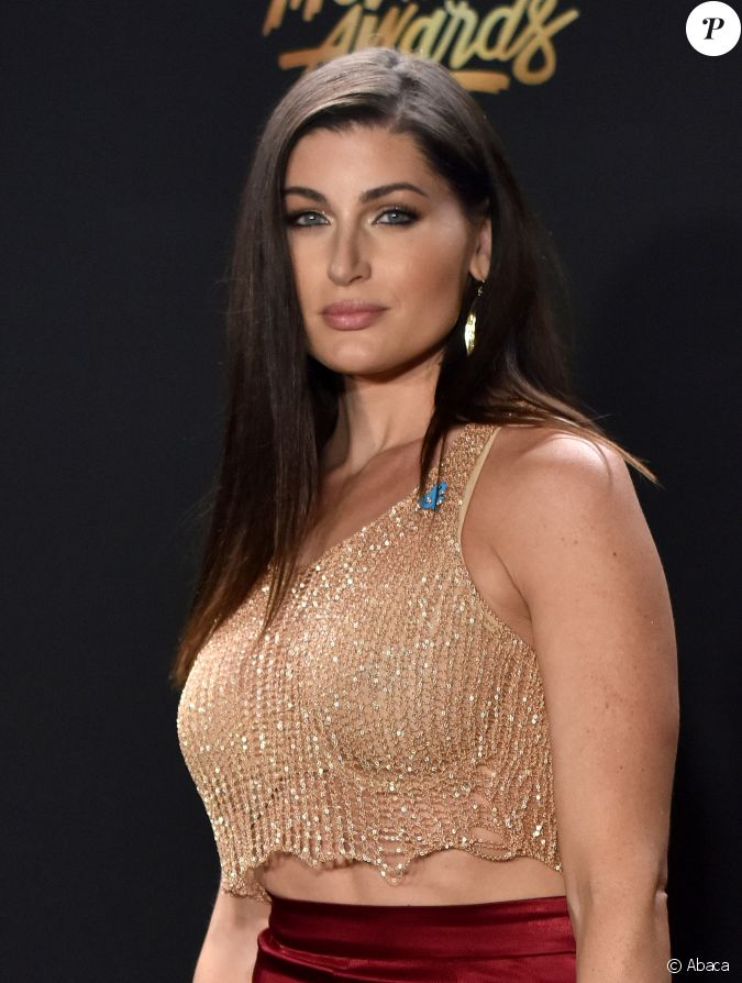 trace lysette actrice transgenre de la s rie transparent lors des mtv movie tv awards los. Black Bedroom Furniture Sets. Home Design Ideas