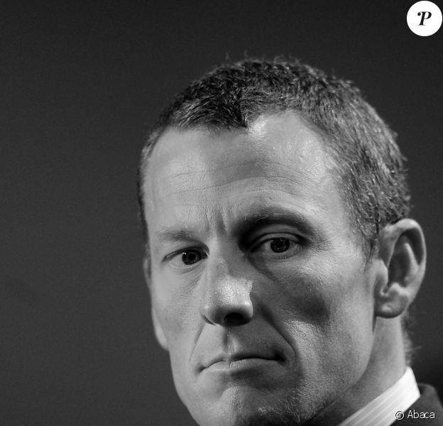 Lance Armstrong, blessé le 23 mars 2009...