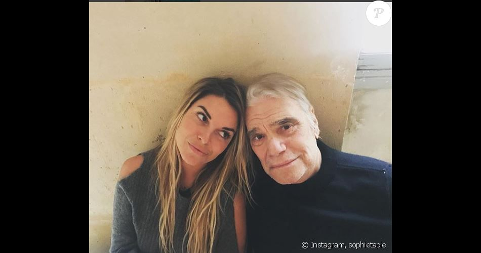 Sophie Tapie et son papa Bernard Tapie, Instagram, 13 février 2018