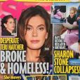 Star Magazine a publié cette couverture affirmant que Teri Hatcher est ruinée et SDF. Mars 2018