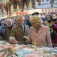 Camilla Parker Bowles et le prince Charles en visite à Halifax le 16 février 2018