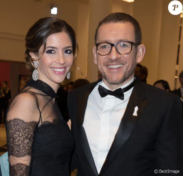 Dany Boon et sa femme Yael - Arrivées lors de la 43ème cérémonie des Cesar à la salle Pleyel à Paris, le 2 mars 2018. © Dominique Jacovides - Olivier Borde / Bestimage