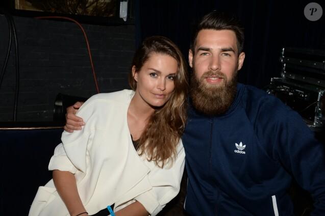 Semi-Exclusif - Luka Karabatic et sa compagne Jeny Priez - Soirée Adidas à l'Arc à Paris, le 28 mai 2015.