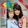 Helena Christensen et son fils Mingus pour la couverture de Cookie