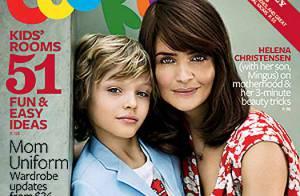 Helena Christensen vous présente l'homme de sa vie : son adorable fils !