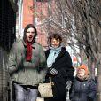 Helena Christensen, Norman Reedus et son fils en 2005